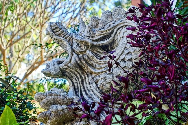 Ogród chiński - Smok