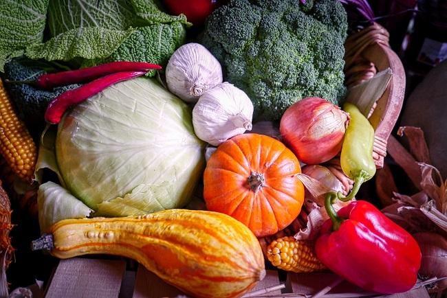 Październik w ogrodzie - zbiory warzyw